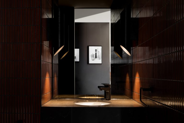 14-Artedomus-Japanese-tiled-bathroom-urban-house-western-suburbs-architect-Robeson-Architects