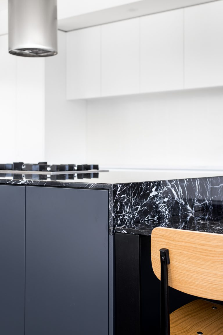 8-Triangle-House-kitchen-island-marquina-marble-Mount-Lawley-architect-by-Robeson-Architects