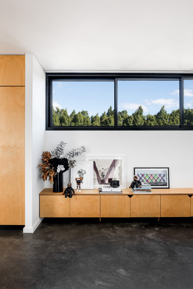 12-Triangle-House-custom-cabinetry-living-profile-Mount-Lawley-architect-by-Robeson-Architects