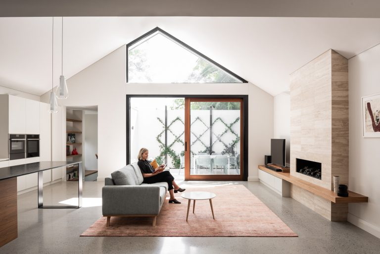 2-living-room-house-Subiaco-architect-Robeson-Architects-Perth