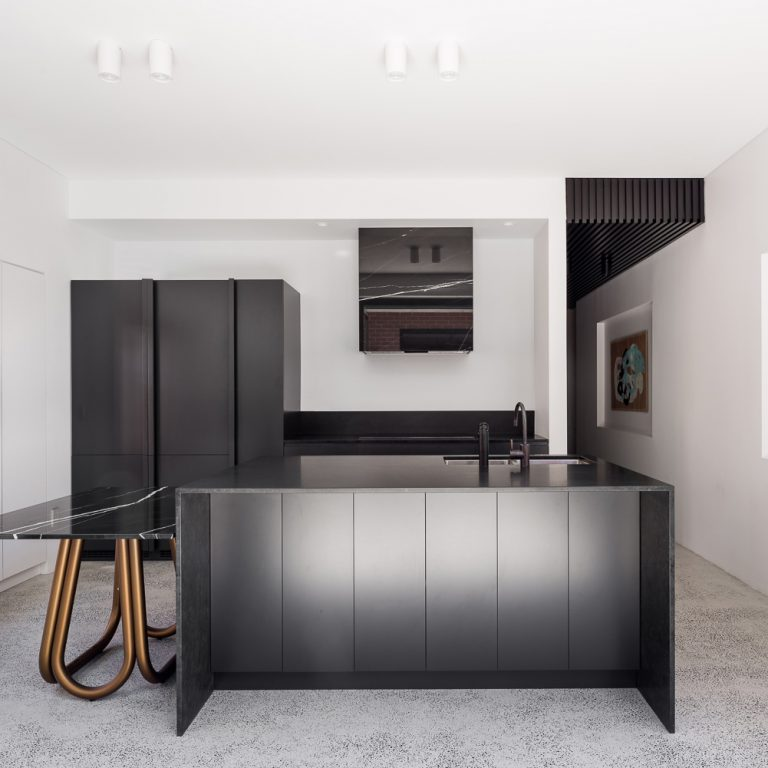 Kitchen from King George House by Perth residential architect Simone Robeson of Robeson Architects